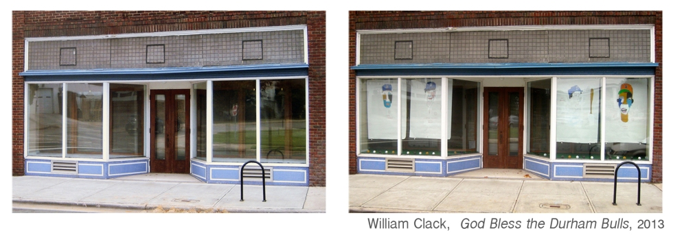 Before and After with artwork by William Clack